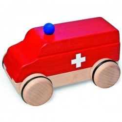 Puzzle mobile ambulance