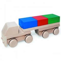 Puzzle mobile camion