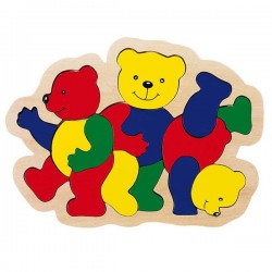 Puzzle famille Ours Goki