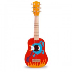 Guitare rock and roll