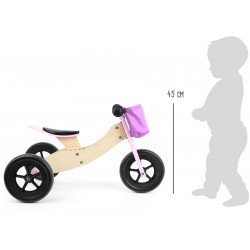 Draisienne tricycle 2 en 1...